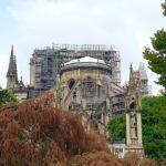 Notre-Dame dopo l'incendio del 2019